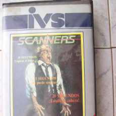 Cine: SCANNERS VHS. Lote 195237338