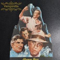 Cine: EL TESORO DE SIERRA MADRE --CINE PRINCIPAL SARREAL 1950 TARRAGONA. Lote 195261055