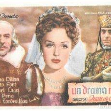 Cine: UN DRAMA NUEVO SP. Lote 195324147