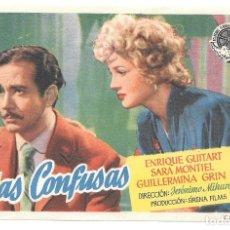Cine: VIDAS CONFUSAS SP. Lote 195324300