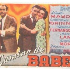 Cine: EL CAMINO DE BABEL SP. Lote 195324471