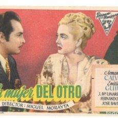 Cine: LA MUJER DEL OTRO SP. Lote 195324716