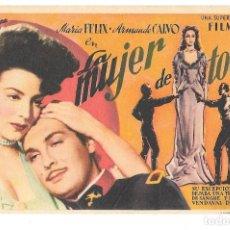 Cine: LA M UJER DCE TODOS SP. Lote 195324922