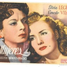 Cine: SIETE MUJERES SP. Lote 195325732