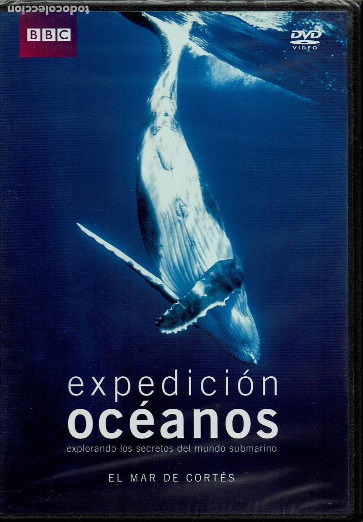 BBC EXPEDICION OCEANOS-EL MAR DE CORTES (Cine - Folletos de Mano - Documentales)