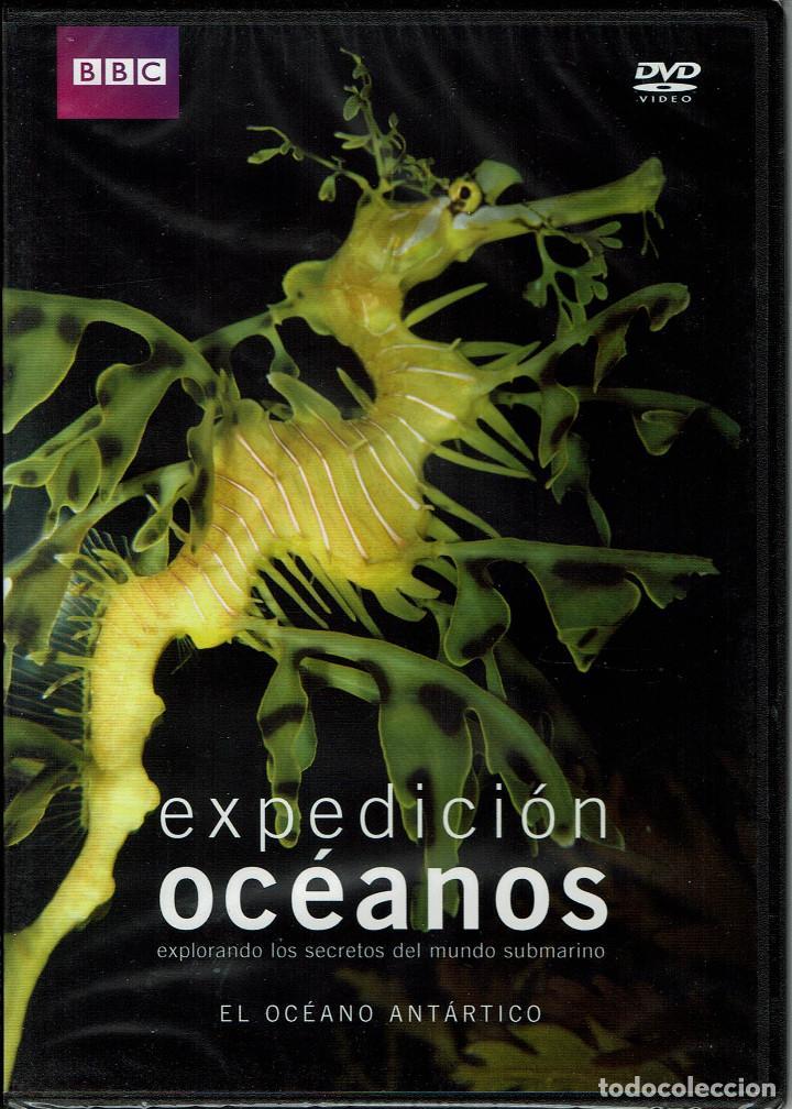 BBC EXPEDICION OCEANOS-EL OCEANO ANTARTICO (Cine - Folletos de Mano - Documentales)