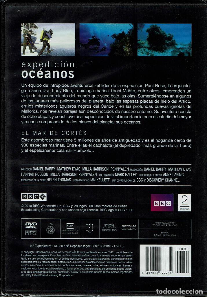 Cine: BBC EXPEDICION OCEANOS-EL OCEANO ANTARTICO - Foto 2 - 195326285