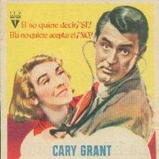 Cine: EN BUSCA DE MARIDO (CON PUBLICIDAD). Lote 195332730