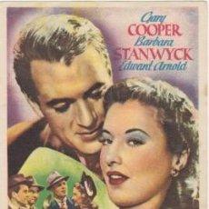 Cine: JUAN NADIE. Lote 195333303