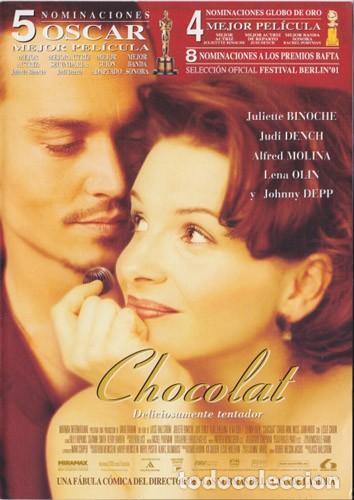 CHOCOLAT (Cine - Folletos de Mano - Comedia)