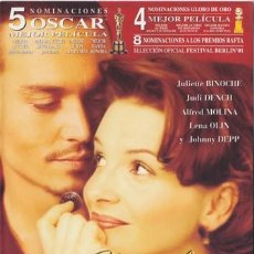 Cine: CHOCOLAT. Lote 195333442