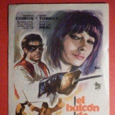 Cine: FOLLETO - PELÍCULA - FILM - LARGOMETRAJE - CINE - EL HALCÓN DE CASTILLA - COLISEUM. Lote 195345196