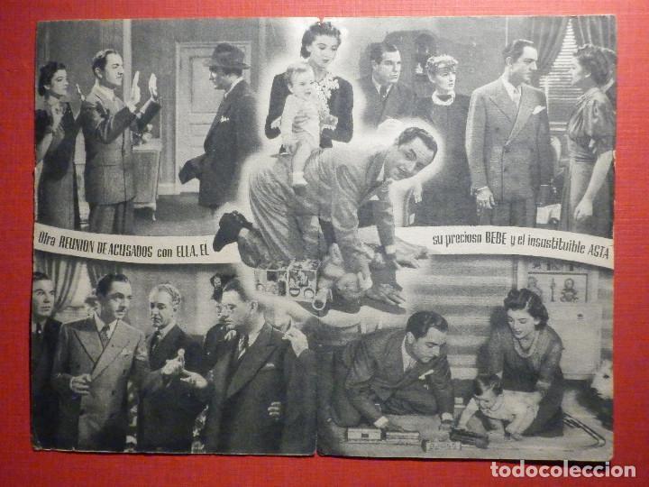 Cine: FOLLETO - PELÍCULA - FILM - LARGOMETRAJE - CINE - Otra reunión de acusados - Doble - Foto 2 - 195345632