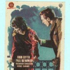 Cine: FOLLETO DE MANO PARA ELLA UN SOLO HOMBRE CON ANN BLYTH PUBLICIDAD DE KURSAAL REUS . Lote 195381497