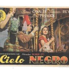 Cine: CIELO NEGRO SP. Lote 195397652