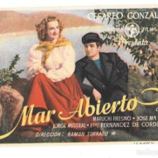 Cine: MAR ABIERTO SP. Lote 195397746