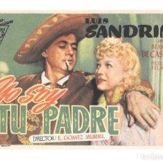 Cine: SOY TU PADRE SP. Lote 195398370