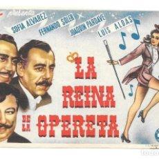 Cine: LA REINA DE LA OPERETA SP. Lote 195398520