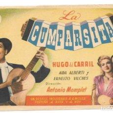 Cine: LA CUMPARSITA SP. Lote 195399397
