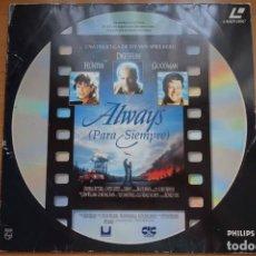 Cine: ALWAYS (1989) - LASERDISC. Lote 195416092