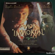 Cine: AMOR INMORTAL - LASERDISC. Lote 195416752
