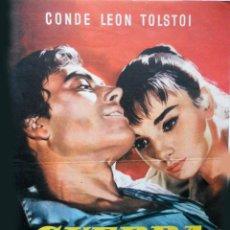 Cine: GUERRA Y PAZ - PROGRAMA DÍPTICO PARAMOUNT. Lote 195452232