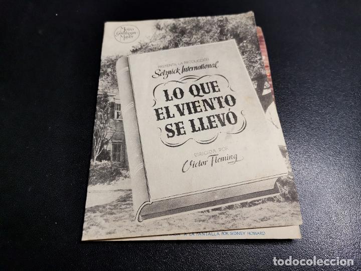 Cine: LO QUE EL VIENTO SE LLEVO -CINE MONTERROSA REUS TARRAGONA - Foto 2 - 195504265