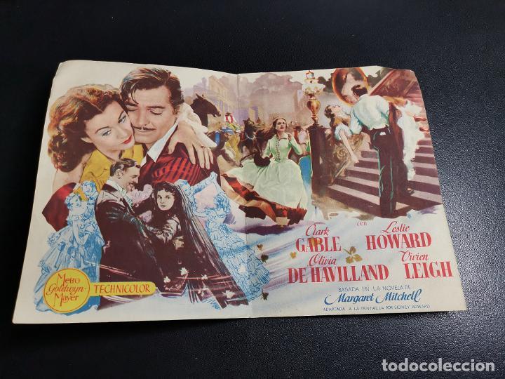 Cine: LO QUE EL VIENTO SE LLEVO -CINE MONTERROSA REUS TARRAGONA - Foto 4 - 195504265