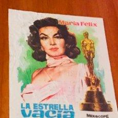 Cine: LA ESTRELLA VACÍA. PROGRAMA SENCILLO.. Lote 195506211