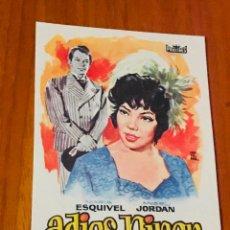 Cine: ADIOS NINON - PROCINES - MARIA ESQUIVEL - ANGEL JORDAN - MONTALBAN - JOSE LUIS MADRID - . Lote 195506992