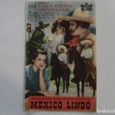 Cine: MEXICO LINDO CINEMA GOYA. Lote 195607697