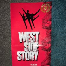 Cine: PROGRAMA DE MANO WEST SIDE STORY MUSICAL 2019. Lote 196320240