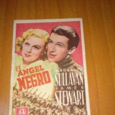Cine: EL ÁNGEL NEGRO. CINE CORUÑA.. Lote 196366921