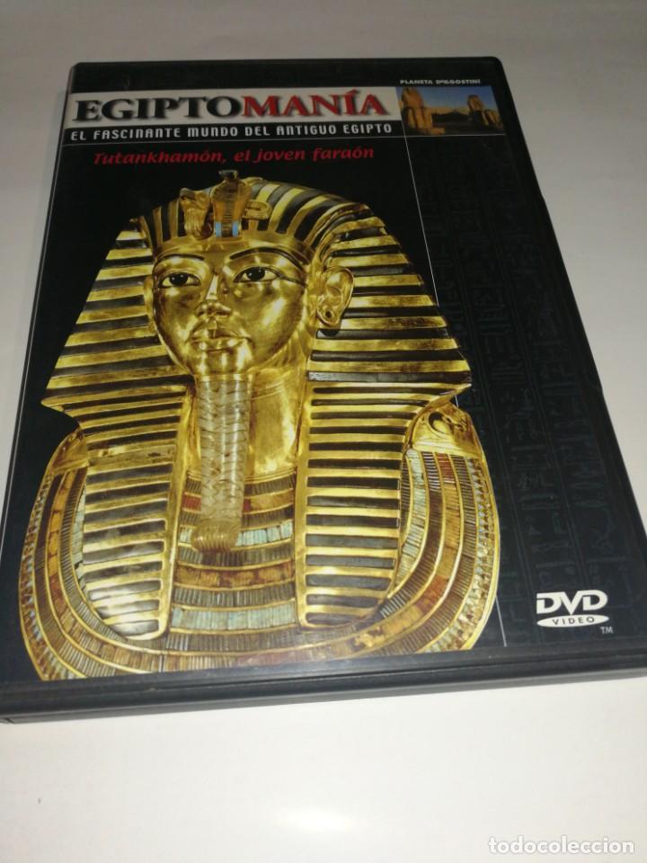 EGIPTOMANIA, TUTANKHAMON EL JOVEN FARAÓN (Cine - Folletos de Mano - Documentales)