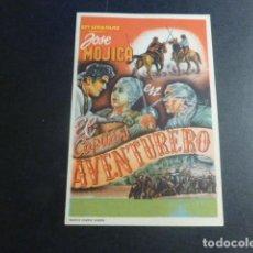 Cine: EL CAPITAN AVENTURERO PROGRAMA DE MANO SIN PUBLICIDAD. Lote 196446740