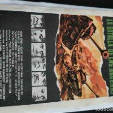 Flyers Publicitaires de films Anciens: LA BATALLA DE LAS ARDENAS, CON PUBLICIDAD. Lote 196516536