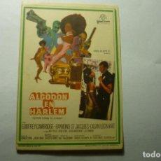 Flyers Publicitaires de films Anciens: PROGRAMA ALGODON EN HARLEM .- . Lote 196593750