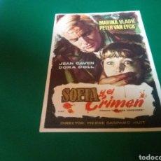 Cine: PROGRAMA DE CINE SIMPLE. SOFÍA Y EL CRIMEN. CINE CONDAL DE SALLENT. Lote 196606652