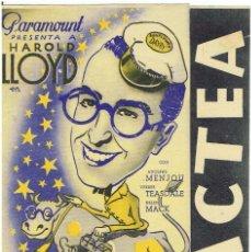 Cine: LAS VIA LACTEA DE HAROLD LLOYD. Lote 196761185