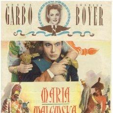 Cine: MARIA WALEWSKA CON GRETA GARBO. Lote 196762631