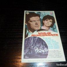 Flyers Publicitaires de films Anciens: PROGRAMA DE CINE IMPRESO EN LA PARTE TRASERA. Lote 196796251