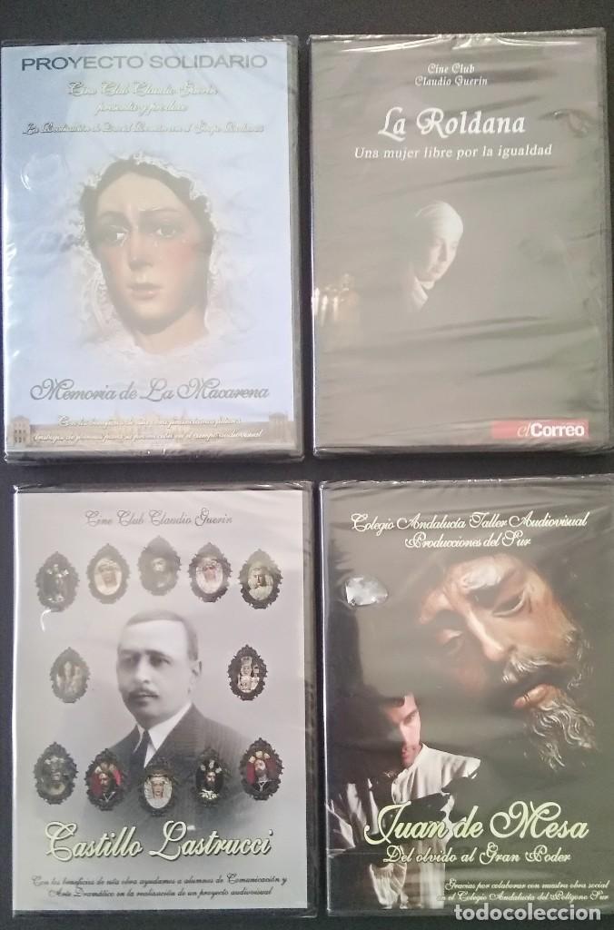 4 DVD SEMANA SANTA IMAGINERIA PROCESIONALES -PRECINTADOS (Cine - Folletos de Mano - Documentales)