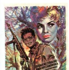 Cine: CENIZAS Y DIAMANTES, DE ANDREI VAJDA.. Lote 196955026