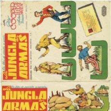 Cine: LA JUNGLA EN ARMAS CON GARY COOPER (2 PROGRAMAS ). Lote 196960452