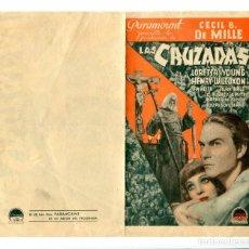 Cine: LAS CRUZADAS, CON LORETTA YOUNG.. Lote 197029916