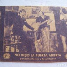 Cine: EX538 ------ PROGRAMA DE MANO ORIGINAL EL DE LA FOTO. Lote 197048002