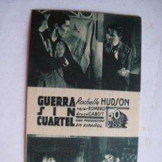 Cine: EX545 ------ PROGRAMA DE MANO ORIGINAL EL DE LA FOTO. Lote 197048267