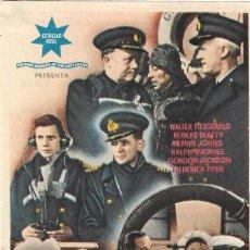 Cine: PROGRAMA DE CINE - SAN DEMETRIO LONDON - WALTER FITZGERALD, ROBERT BEATTY - CINE VICTORIA (MÁLAGA). Lote 197074245