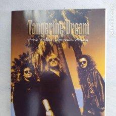Cine: TANGERINE DREAM.DVD.. Lote 197103948