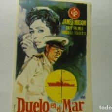 Cine: PROGRAMA DUELO EN EL MAR.-JAMES MASON. Lote 197327577